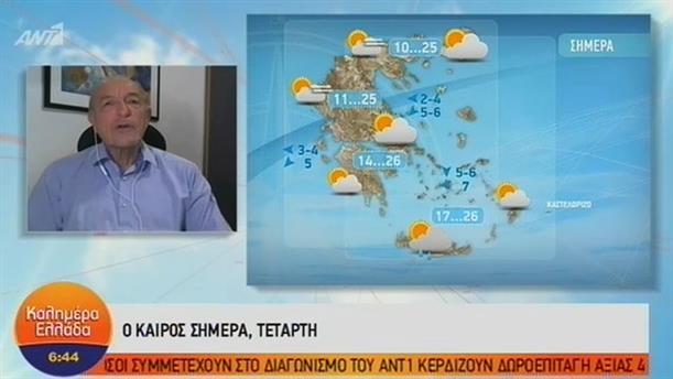 ΚΑΙΡΟΣ – ΚΑΛΗΜΕΡΑ ΕΛΛΑΔΑ - 10/10/2018