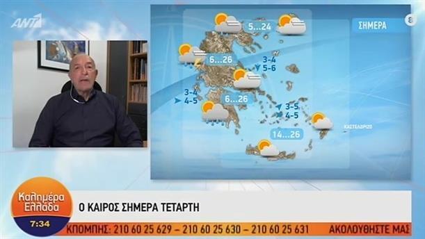 ΚΑΙΡΟΣ – ΚΑΛΗΜΕΡΑ ΕΛΛΑΔΑ - 30/10/2019