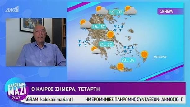 Καιρός - ΚΑΛΟΚΑΙΡΙ ΜΑΖΙ - 28/08/2019