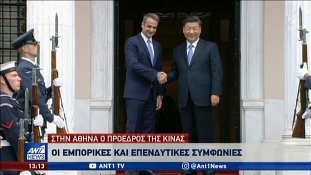 Επέκταση συνεργασίας με υπογραφή συμφωνιών Ελλάδας – Κίνας