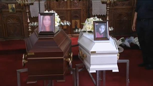 Η κηδεία δύο θυμάτων του serial killer στην Κύπρο