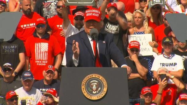 Εκλογές - ΗΠΑ: Ο Τραμπ υποστήριξε πως δεν θα υπάρξει ξανά απαγόρευση κυκλοφορίας λόγω του κορονοϊού