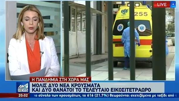 Κορονοϊός: Μόλις δύο τα νέα κρούσματα στην Ελλάδα
