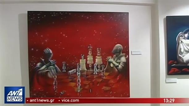 Εικαστική βραδιά με τον ζωγράφο Γιάννη Νίκου