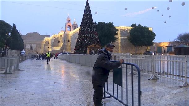 Η Βηθλεέμ προετοιμάζεται για τα Χριστούγεννα