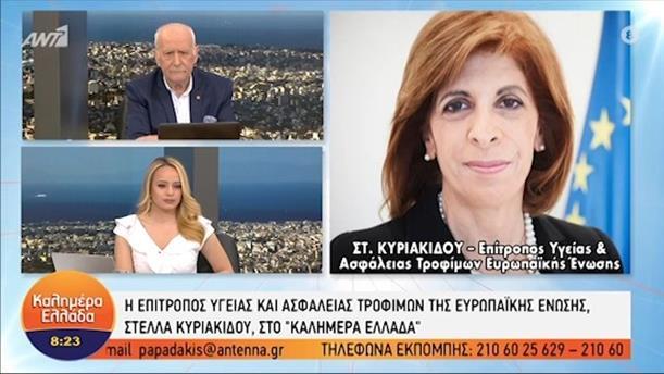 Στ. Κυριακίδου - Επίτροπος Υγείας και Ασφάλειας Τροφίμων Ε.Ε – ΚΑΛΗΜΕΡΑ ΕΛΛΑΔΑ - 28/04/2021