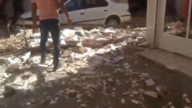 Σημαντικές ζημιές από το σεισμό στο Ιράν