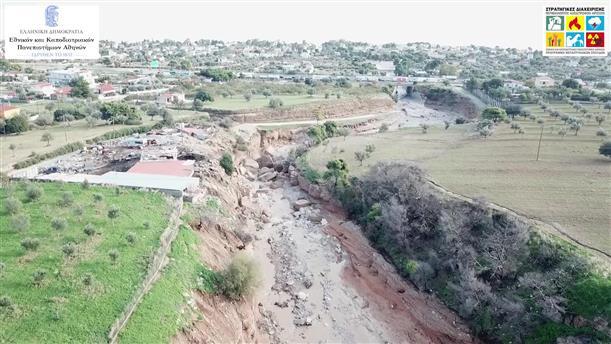 Drone video με τις καταστροφές στην Κινέτα