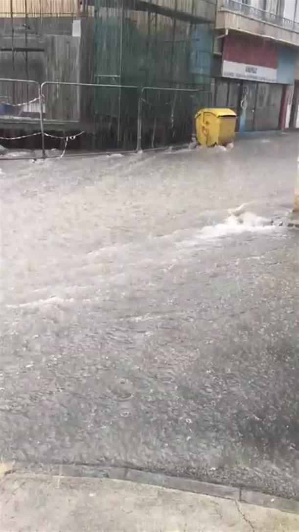 Πλημμύρισε η Λεμεσός