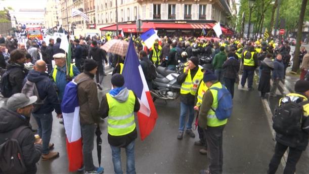 Διαδήλωση από τα «Κίτρινα Γιλέκα»