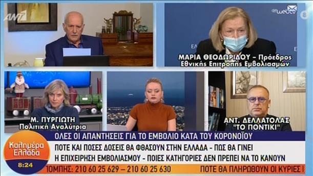 """Η Μαρία Θεοδωρίδου στην εκπομπή """"Καλημέρα Ελλάδα"""""""