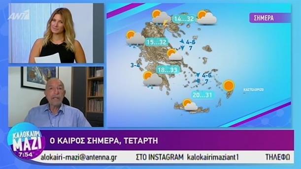 Καιρός - ΚΑΛΟΚΑΙΡΙ ΜΑΖΙ - 11/09/2019
