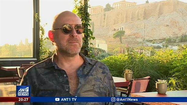 """Mario Biondi: Ο νέος """"Bary White"""" στον ΑΝΤ1 για την συναυλία του στο Ηρώδειο"""