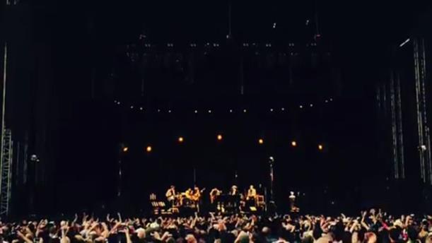 Μπομπ Ντίλαν και Νιλ Γιανγκ μαζί στη σκηνή, μετά από 25 χρόνια