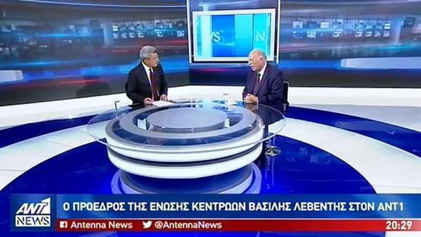 Ο Βασίλης Λεβέντης στον ΑΝΤ1 για τις τουρκικές προκλήσεις και τις εκλογές