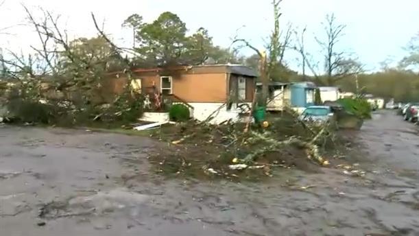 Φονικός κυκλώνας στην Αλαμπάμα