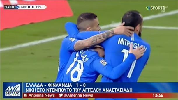 Νικηφόρο ήταν το ντεμπούτο του Αναστασιάδη στον πάγκο της Εθνικής ομάδας