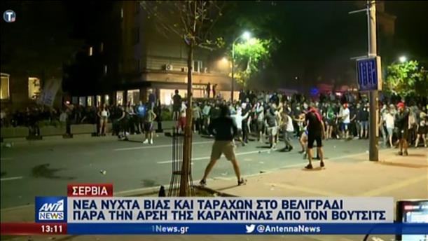 Χάος διαδηλώσεων στη Σερβία