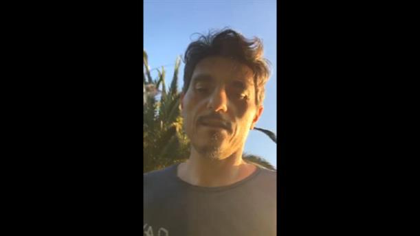 Το βίντεο που ανέβασε ο Δημήτρης Γιαννακόπουλος από επίθεση οπαδών στο σπίτι του