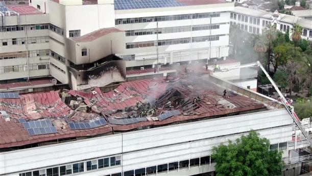 Εκκένωση νοσοκομείο λόγω φωτιάς