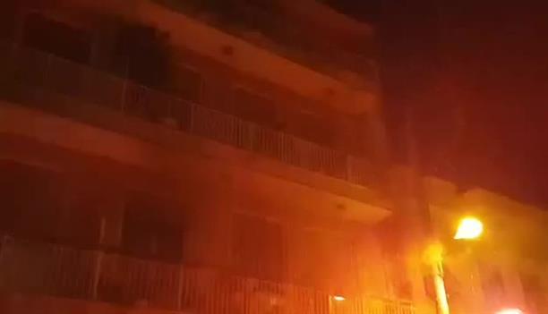 Πάτρα: Πυρκαγιά σε διαμέρισμα