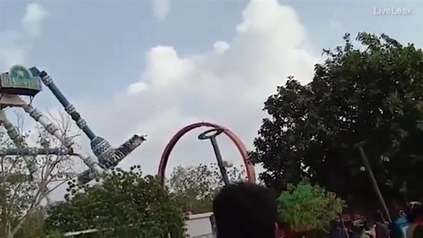 Δυστύχημα σε λούνα παρκ στην Ινδία