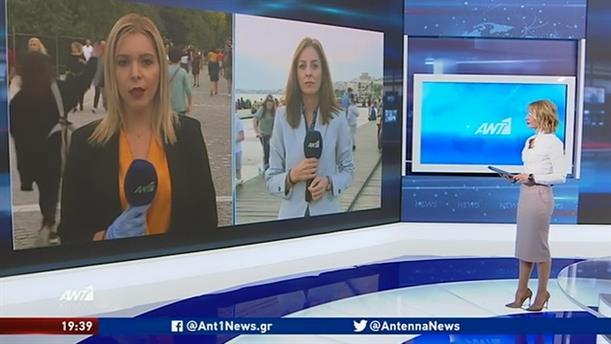 """""""Πλημμύρισαν"""" κόσμο πεζόδρομοι σε Αθήνα και Θεσσαλονίκη"""