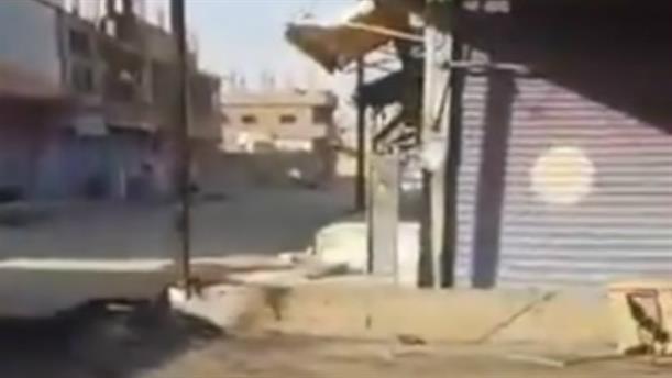 Συρία: δημοσιογράφος απαθανατίζει τη στιγμή τουρκικού βομβαρδισμού
