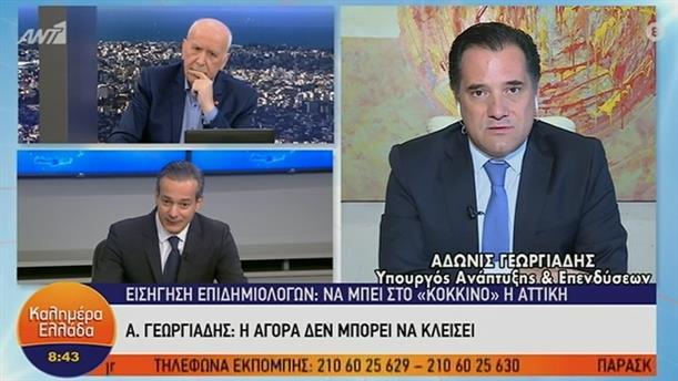A. Γεωργιάδης - Υπουργός Ανάπτυξης και Επενδύσεων – ΚΑΛΗΜΕΡΑ ΕΛΛΑΔΑ - 29/01/2021