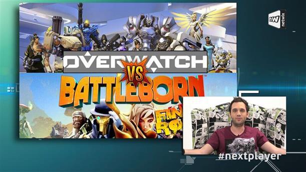 Next Player επ. 200: Σύγκριση Overwatch VS Battleborn και Logitech G810 Keyboard Unboxing!