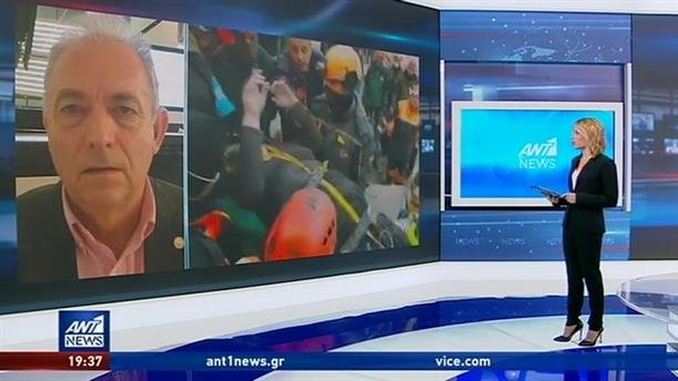 Λέκκας στον ΑΝΤ1: πολύπλοκη η σεισμική δραστηριότητα στην Τουρκία
