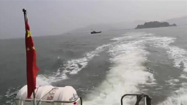 Σύγκρουση πλοίων στην Κίνα