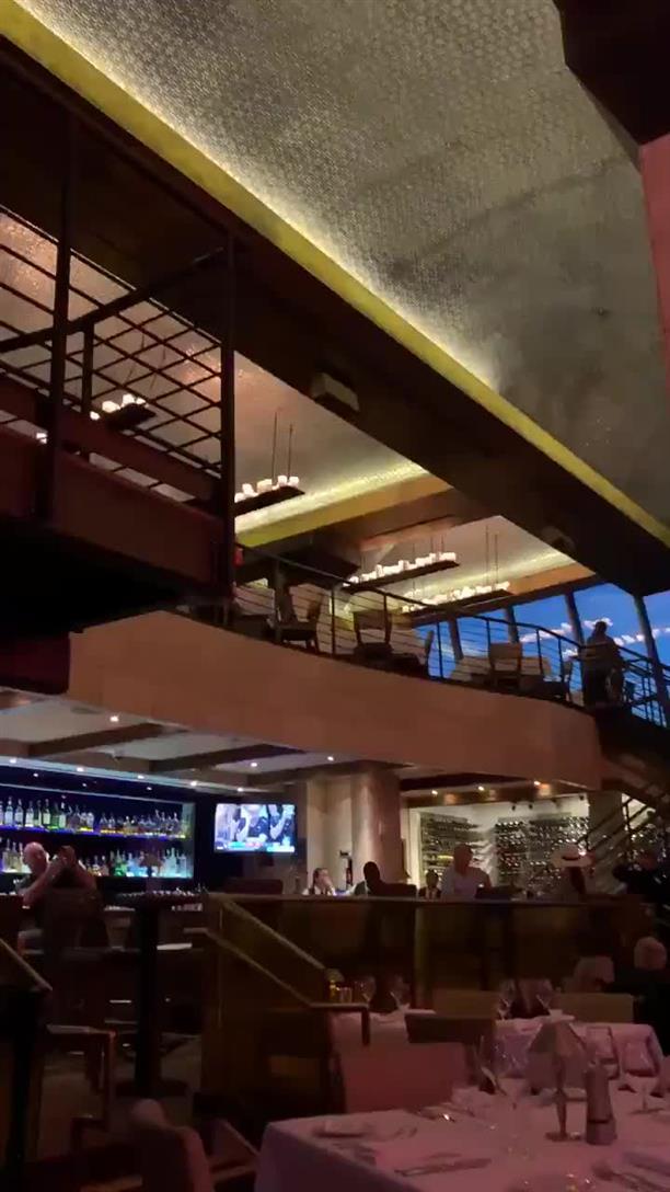 """Πανικός στο """"Morongo Casino"""", στην Καλιφόρνια, απο τον σεισμό"""