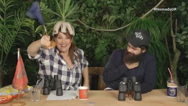 Talking Nomads Day 17: ''Το χρηστικό καπέλο της Καλογρίδη''