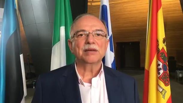 Δήλωση Παπαδημούλη μετά επανεκλογή του ως αντιπρόεδρος του ΕΚ