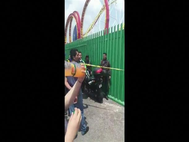 Δυστύχημα σε λούνα παρκ στο Μεξικό