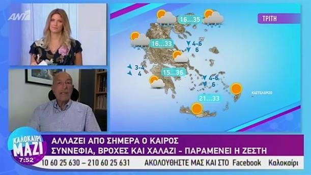 Καιρός - ΚΑΛΟΚΑΙΡΙ ΜΑΖΙ - 02/09/2019