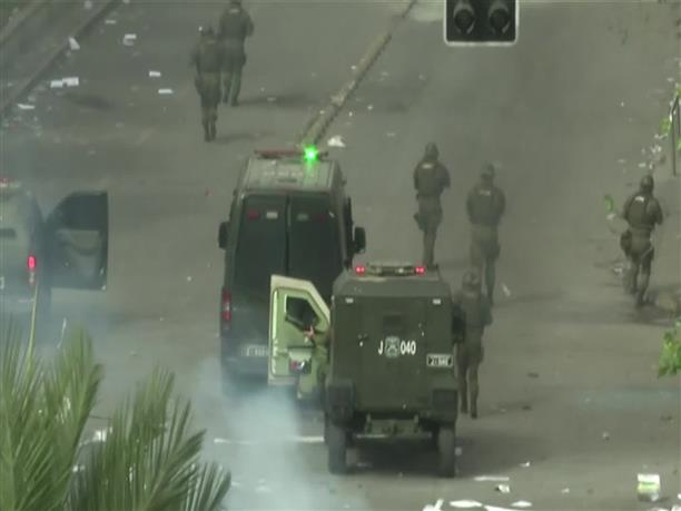 Πολεμικό σκηνικό στη Χιλή