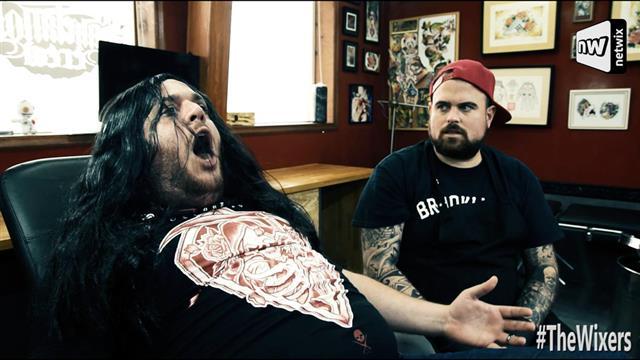 Όταν πηγαίνουν οι μεταλάδες για τατουάζ