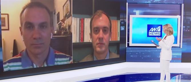 Χατζηβασιλείου και Φίλης στον ΑΝΤ1 για τη συμφωνία Ελλάδας-Αιγύπτου (βίντεο)