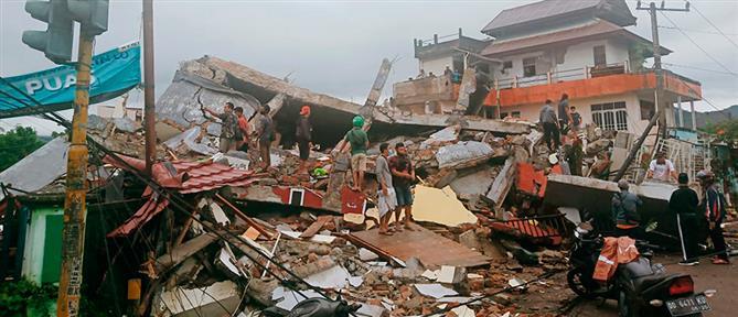 Φονικός σεισμός στην Ινδονησία - Κατέρρευσε νοσοκομείο (βίντεο)