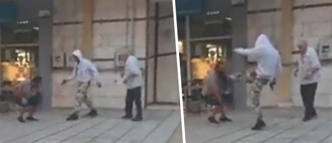 Βίντεο ντοκουμέντο: Επίθεση με όπλο στη Θεσσαλονίκη