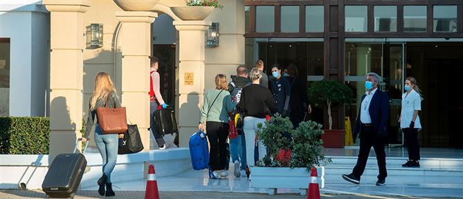 """Κορονοϊός – """"Το πείραμα της Ρόδου"""": Σε καραντίνα Ολλανδοί τουρίστες"""