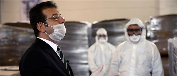 Στο νοσοκομείο με κορονοϊό ο Εκρέμ Ιμάμογλου