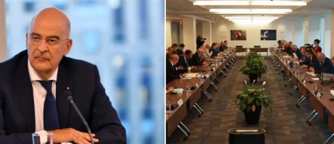Γενική Συνέλευση ΟΗΕ: Επαφές Δένδια για την τουρκική προκλητικότητα