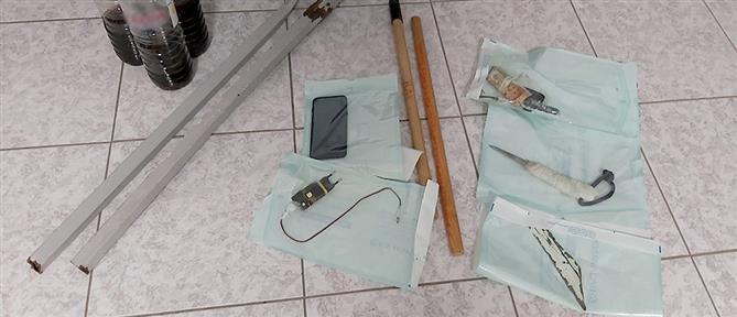 Φυλακές Νεάπολης: Τι βρέθηκε σε έρευνα στα κελιά (εικόνες)