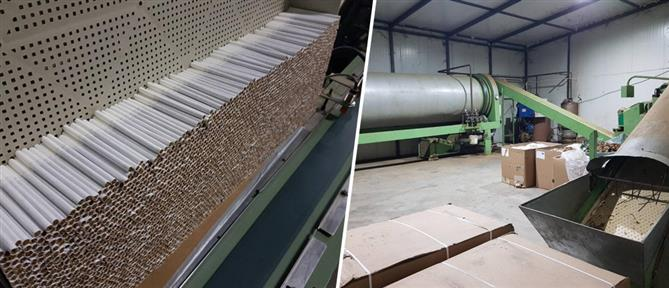 Εκατομμύρια τσιγάρα σε παράνομο εργοστάσιο (εικόνες)