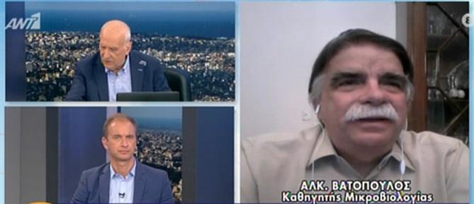 Βατόπουλος στον ΑΝΤ1: αφού ανοίγουν τα σύνορα κρούσματα θα υπάρχουν (βίντεο)