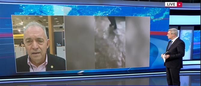 """""""Μπάλλος""""- Λέκκας στον ΑΝΤ1: 30 εκατομμύρια τόνοι νερού έπεσαν στην Αττική"""
