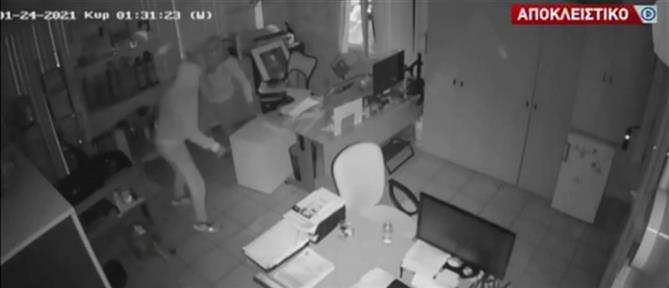 Συμμορία με λεία 190.000 ευρώ: Αποκλειστικό βίντεο του ΑΝΤ1 από τη δράση της